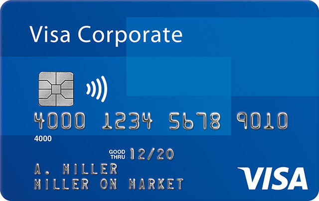 Visa Corporate Debit
