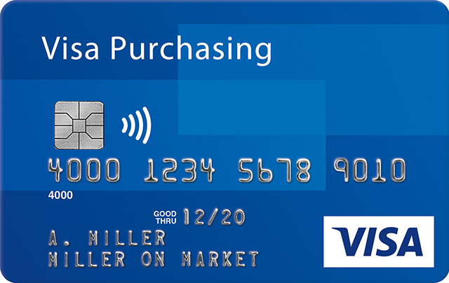 Visa Purchasing Credit